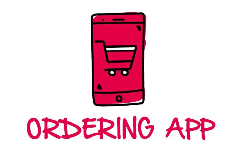 White label Custom Ordering App