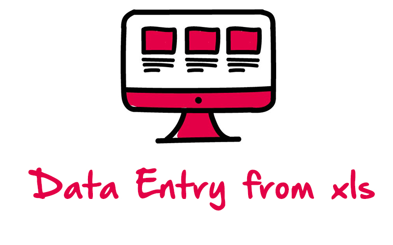 Data Entry from xls
