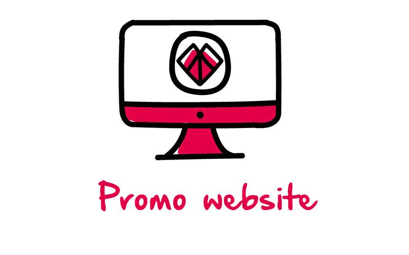 Promo website