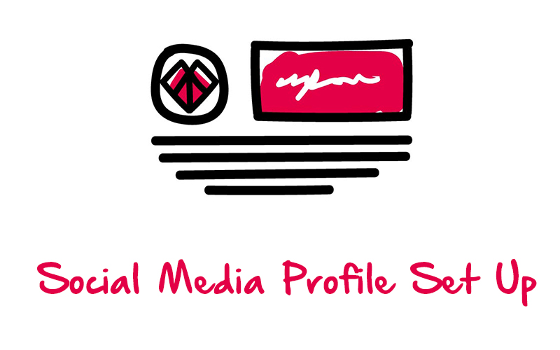 Social Media Profile set up