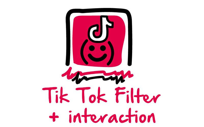 Tiktok Filter + interaction